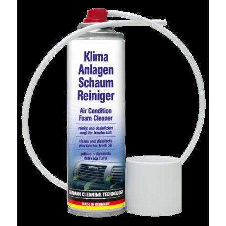 Espuma de limpieza sistema aire acondicionado